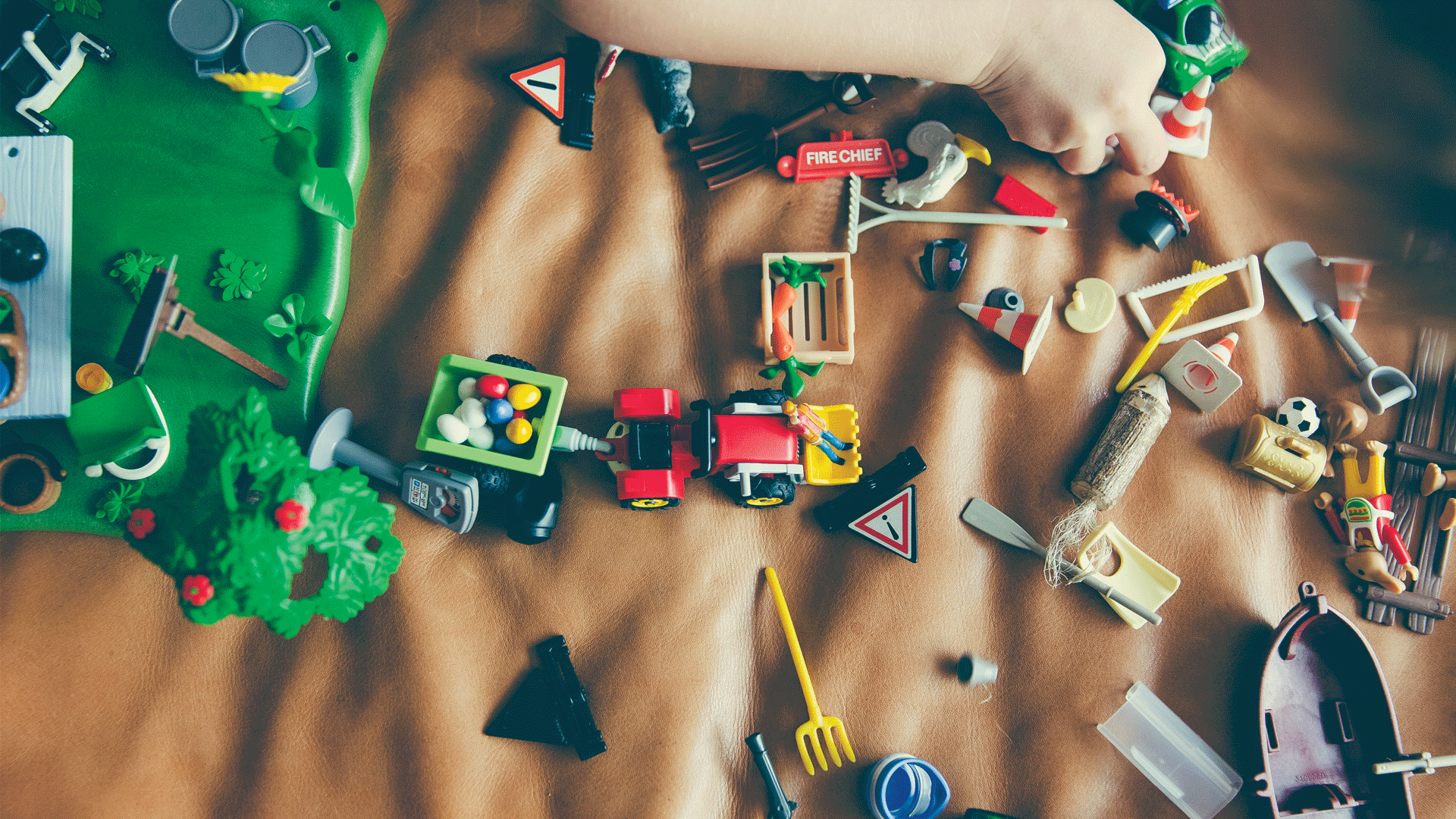 Sorting Out The Kids' Clutter