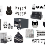 Make A Match Monochrome Kids Room