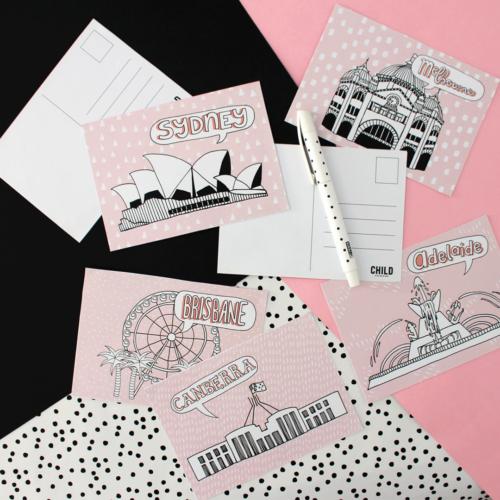 Free Printable Aussie Postcards
