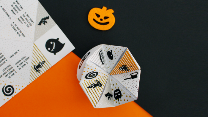 Free Printable Halloween Chatterbox