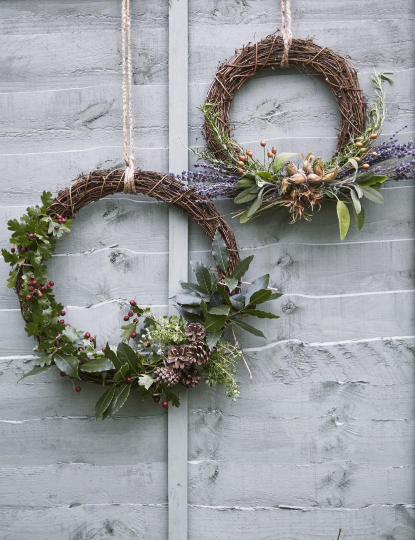 DIY Kitchen Garden Wreath