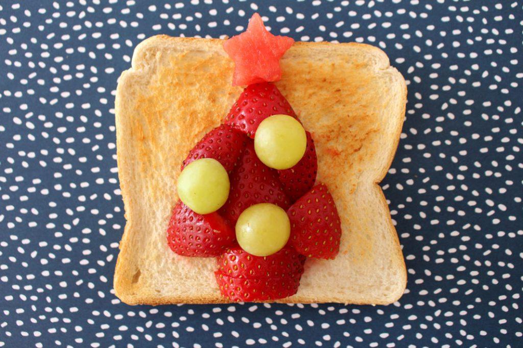 Christmas Tree Toast