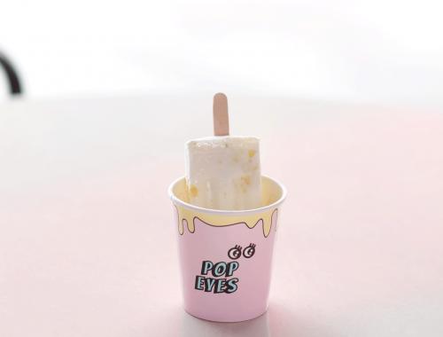 Frozen Strawberry Yoghurt Icy Poles