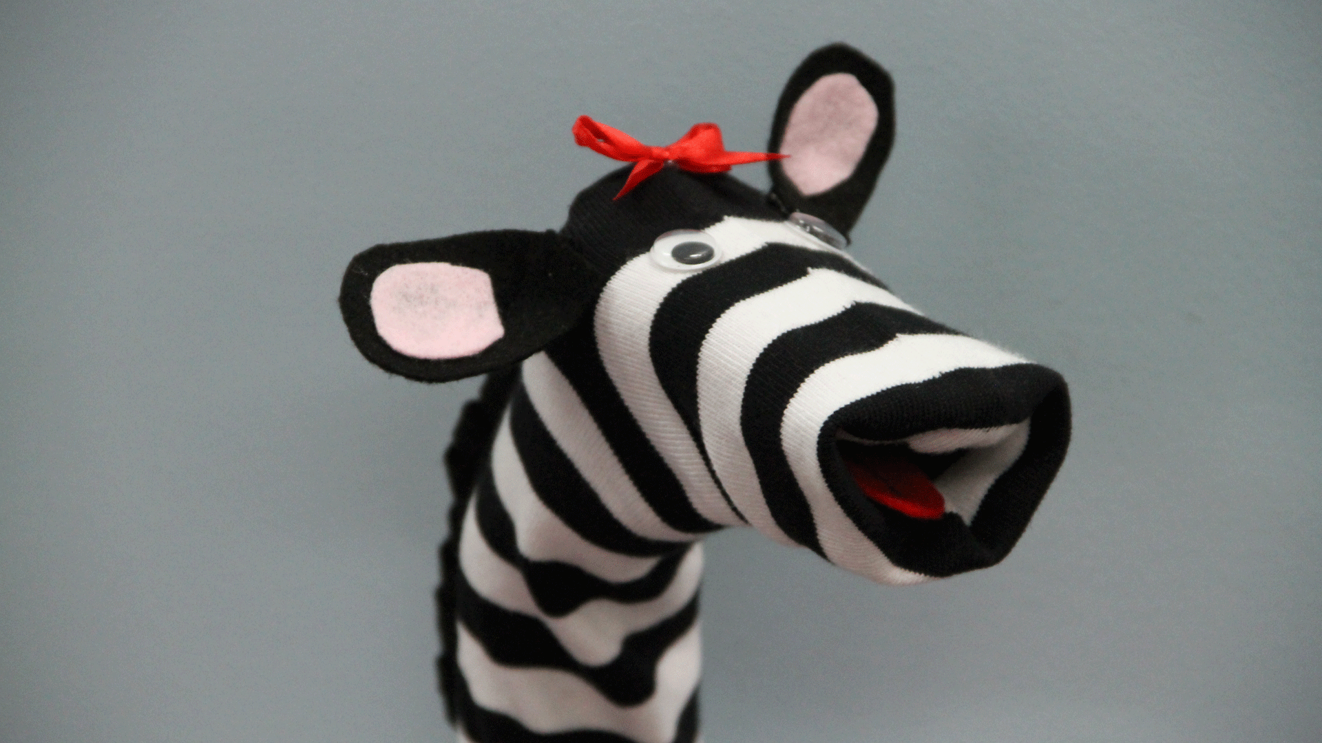 How To Make An Animal Sock Puppet