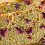 Pear And Raspberry Loaf