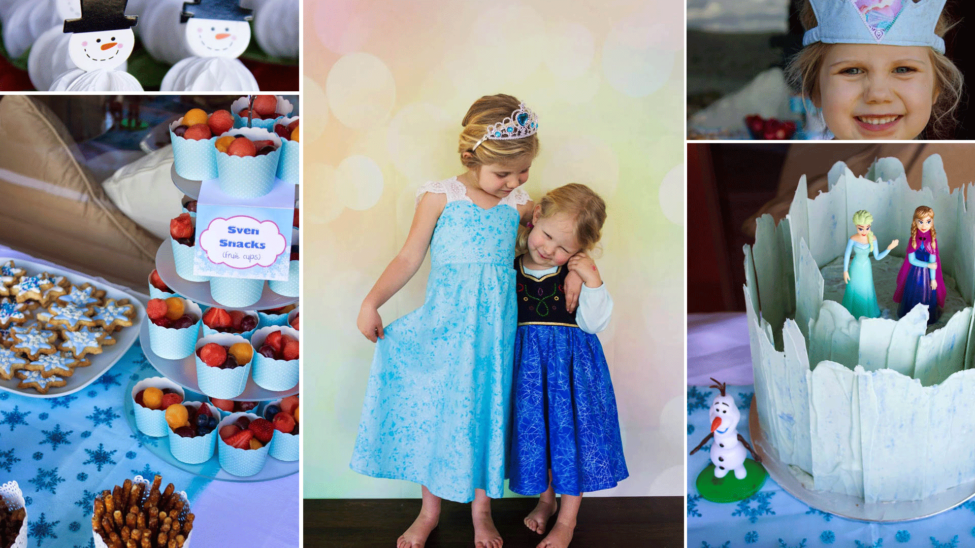 DIY Frozen Party