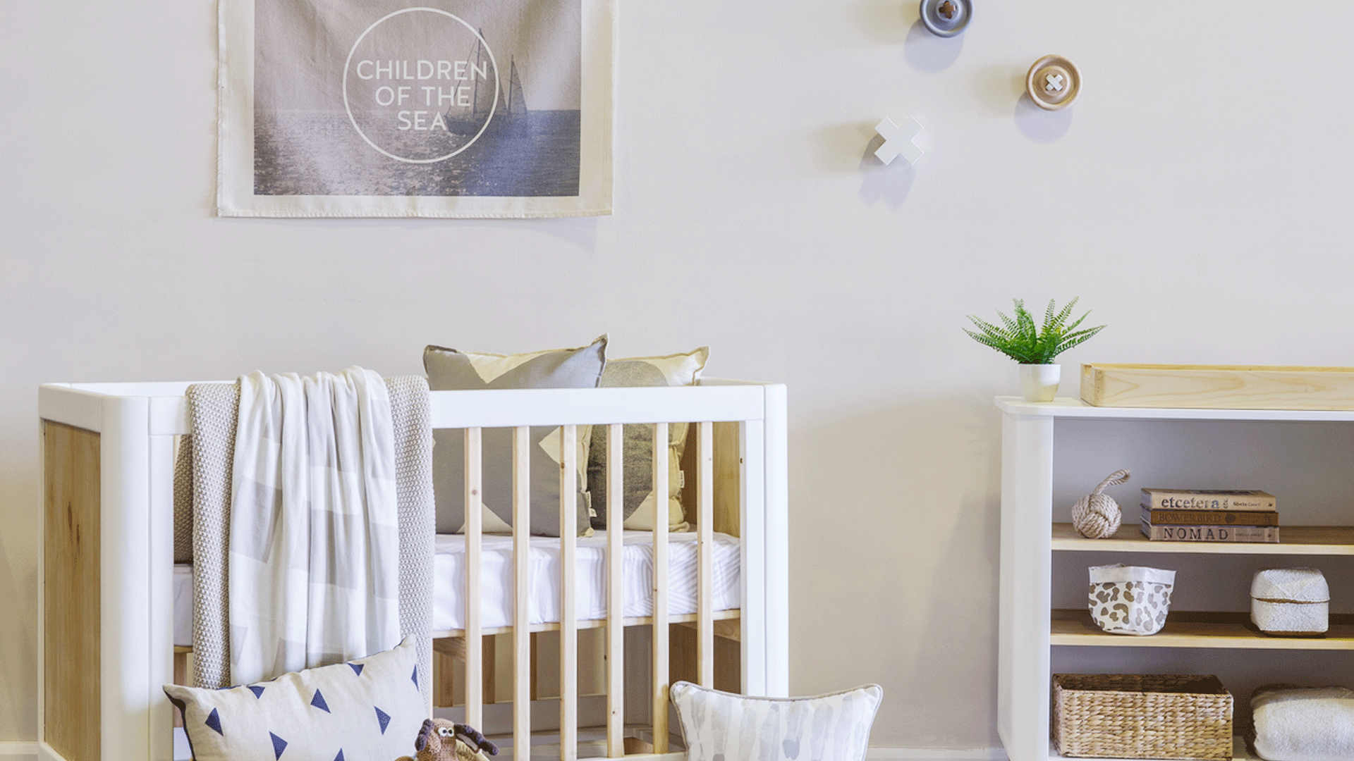 Make A Match Hamptons Nursery