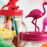 DIY Animal Glitter Jars