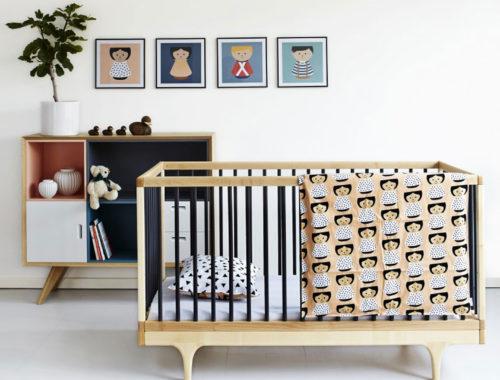 Make A Match Mid-Century Inspired Nursery