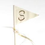 DIY Sequin Flags