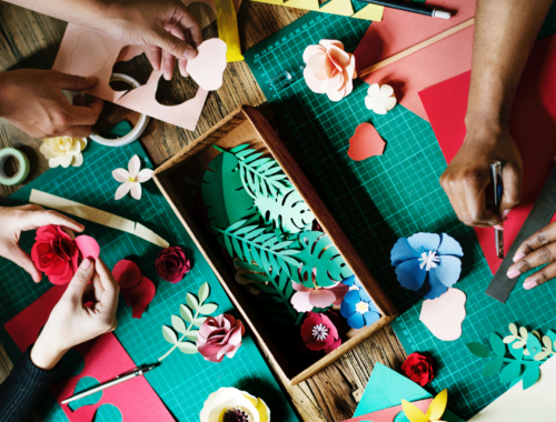 Creative Workshops For Busy Hands
