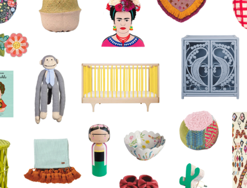 How To Style A Frida Kahlo Nursery