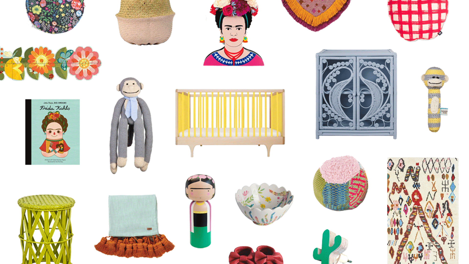How To Style A Frida Kahlo Nursery