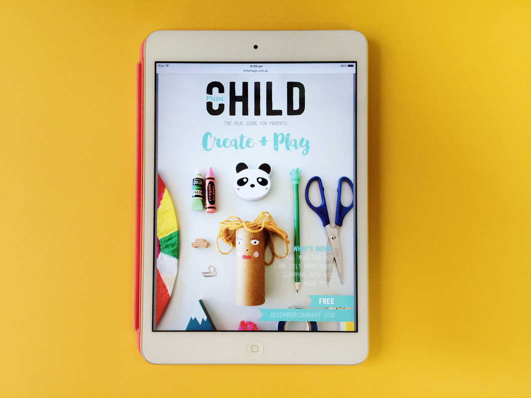 CHILD Create + Play Mini Magazine