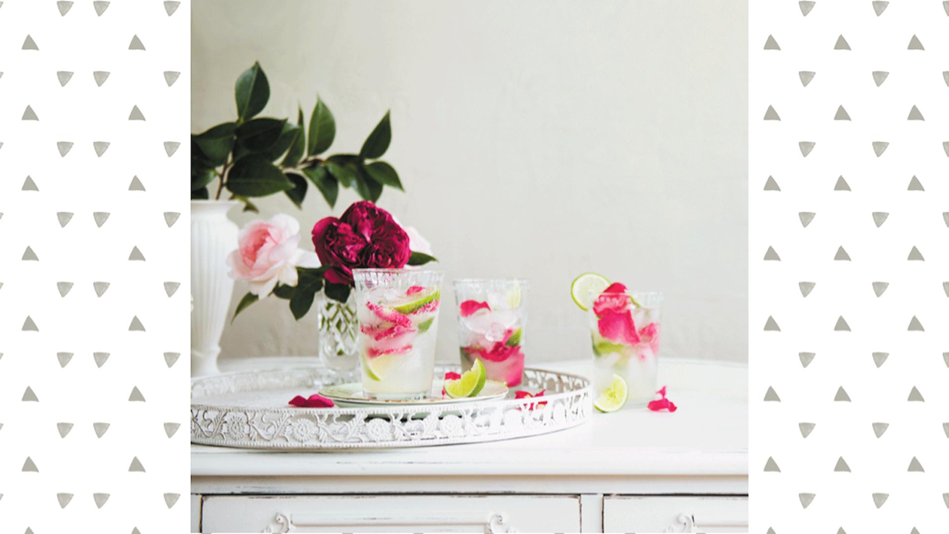 Rose + Lime Spritzer Recipe