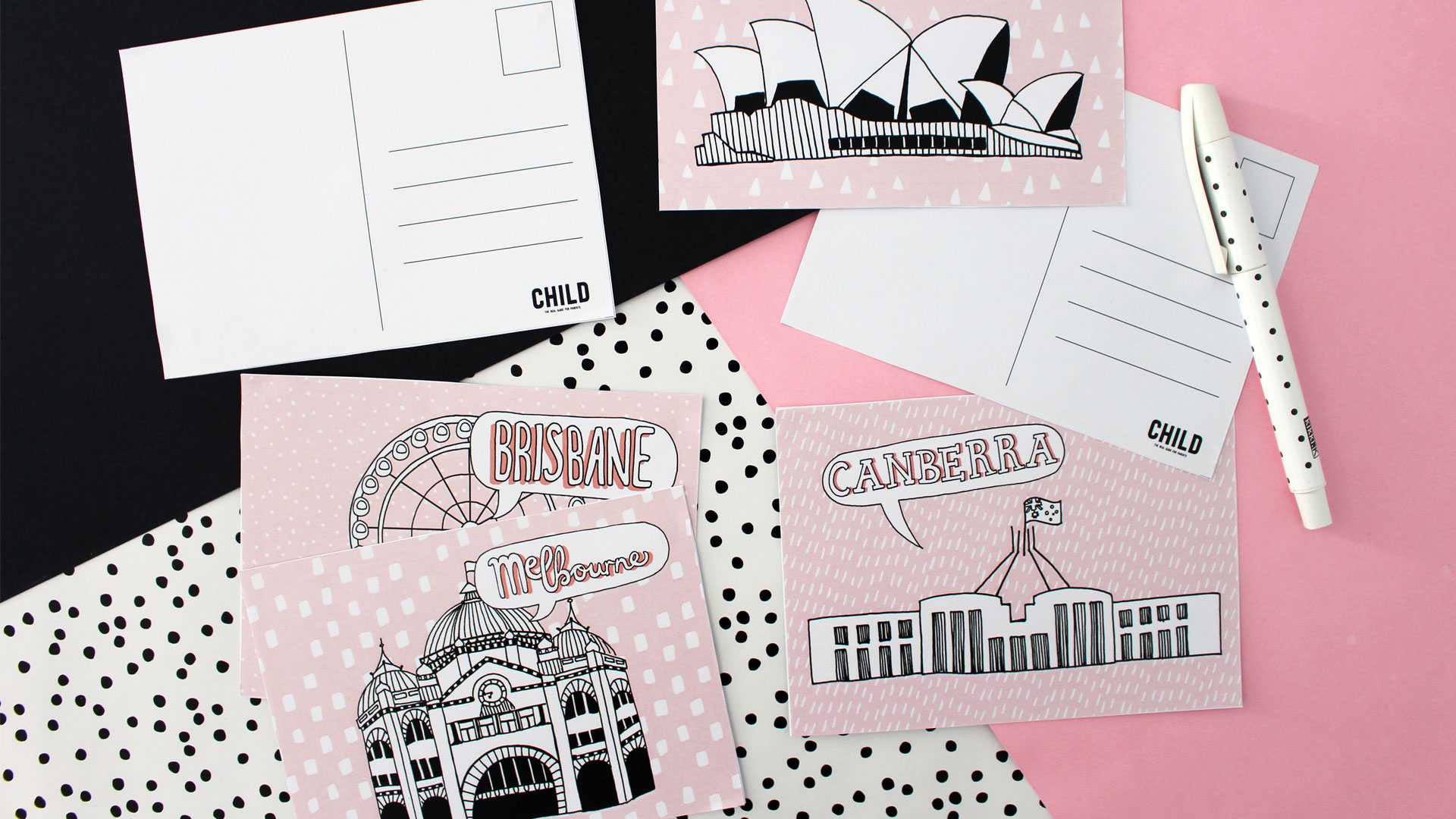 Free Printable Aussie Postcards