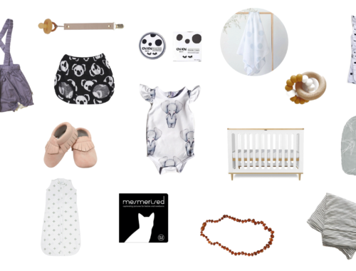 27 Essentials For An Expecting Mother + Newborn