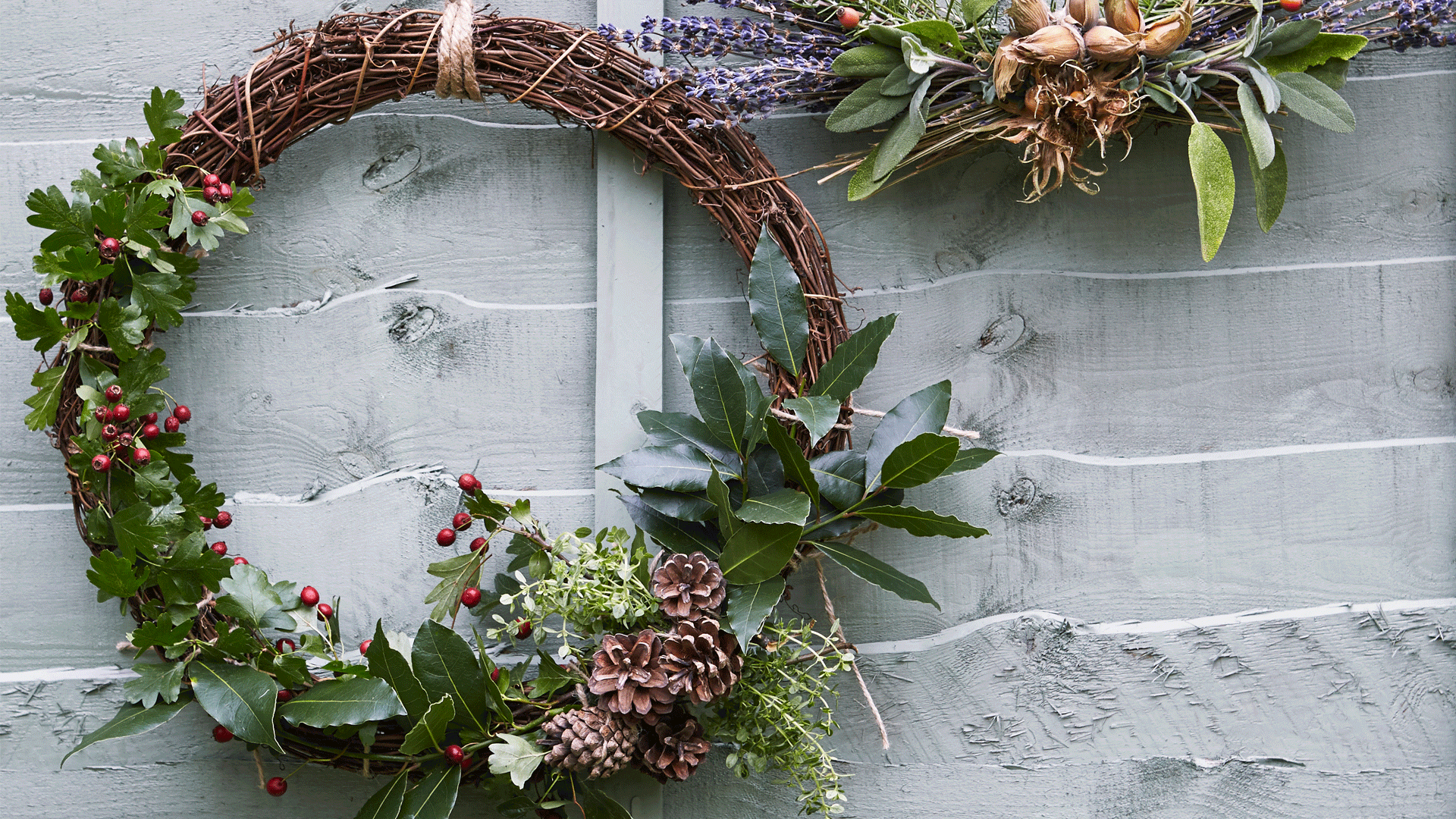 DIY Kitchen Garden Wreath