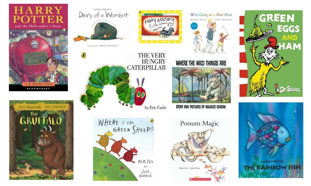 Dymocks Kids Top 51 Books