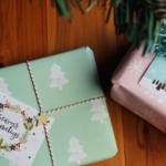 Free Christmas Gift Wrapping Printables