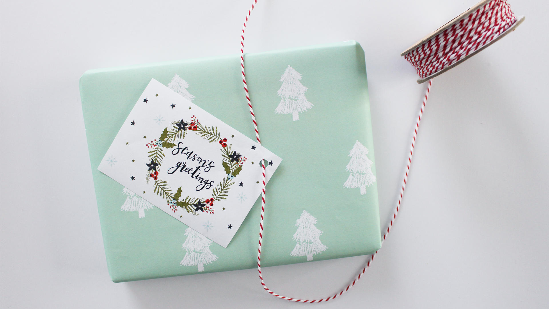 Free Christmas Gift Wrapping Printable