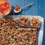 Marmalade + Granola Slice