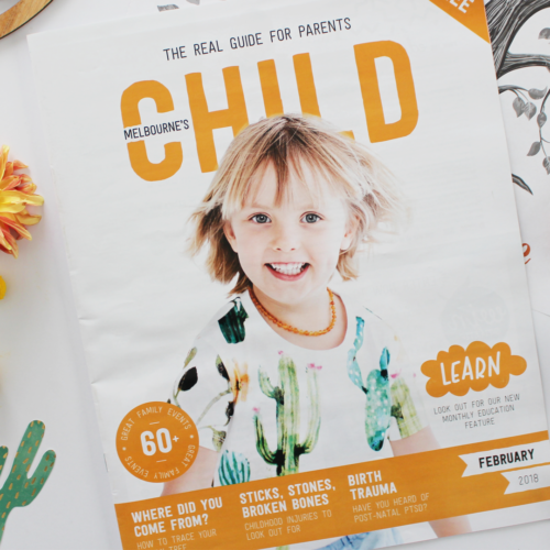 February Issue of CHILD Magazines