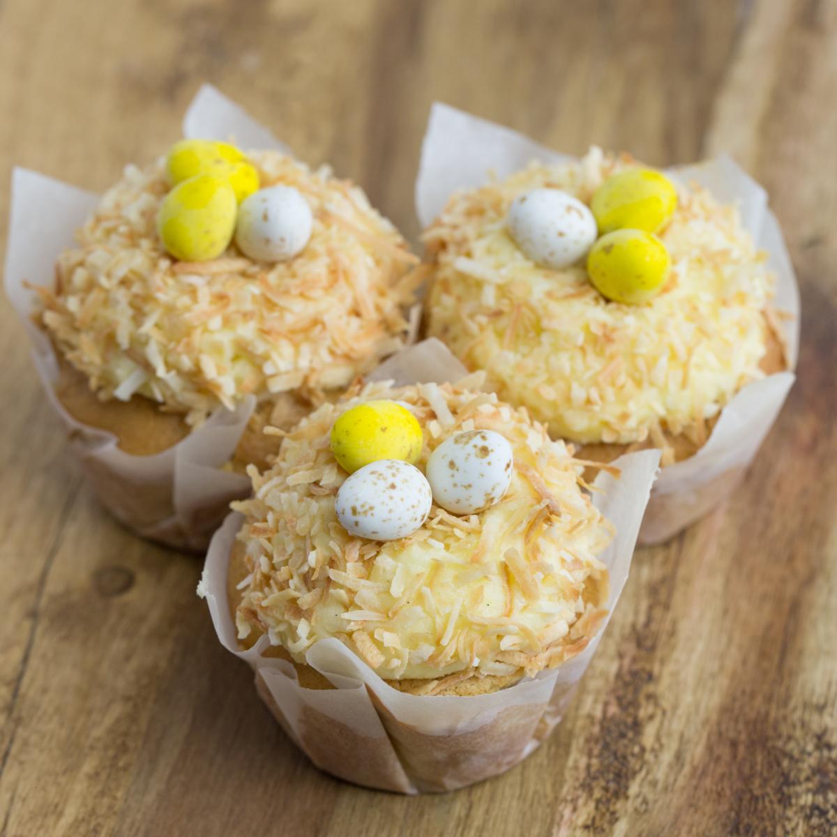 Kirsten Tibballs Easter Nest Cupcakes