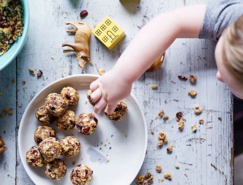 Oatmeal Snack Balls For Babies + Toddlers