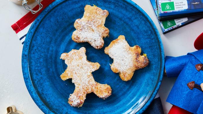 Paddington Bear Marmalade French Toast Bears