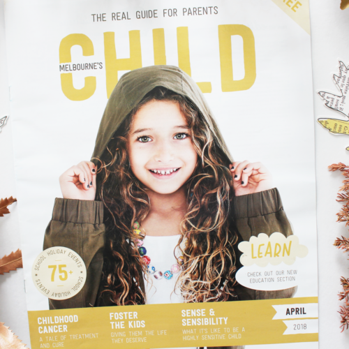 April Issue Of CHILD Magazines