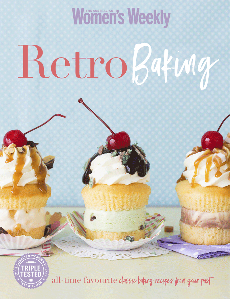 Retro Baking Cookbook