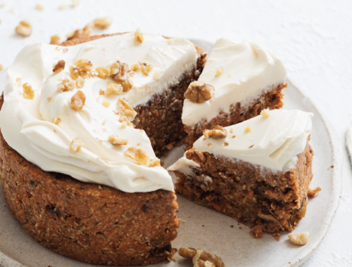 No-Bake Carrot Cake Recipe