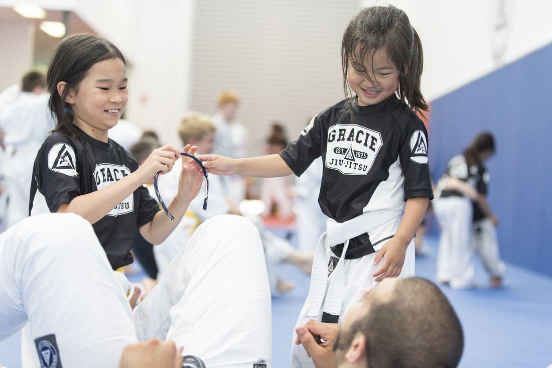 Students at Gracie Jiu-Jitsu Burwood Bullyproof