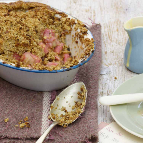 River Cottage Baby & Toddler Oaty Rhubarb