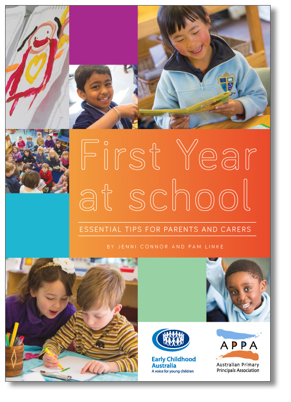 First Yr at school booklet