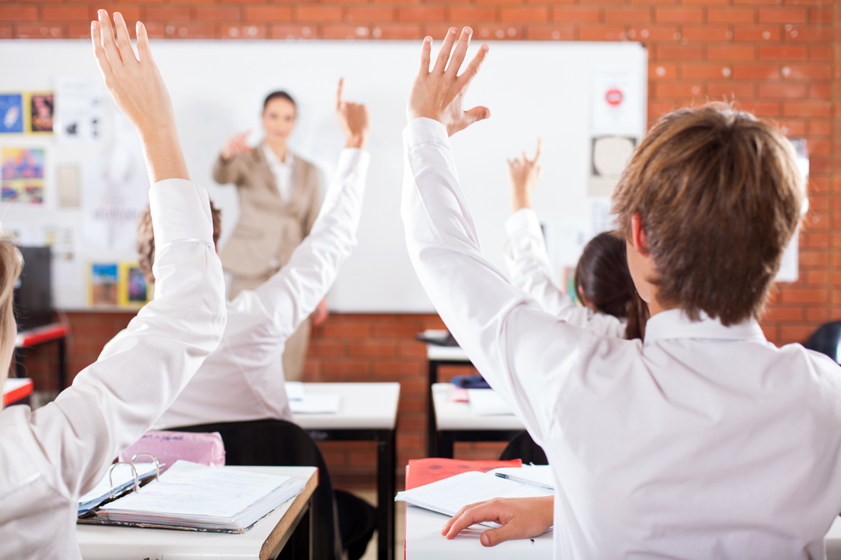 Hands Up In Class 1