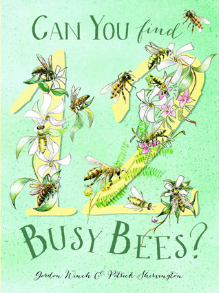 Can you find 12 busy bees