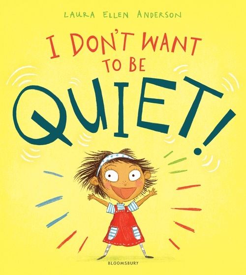 I dont want to be quiet