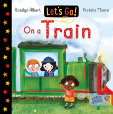 Lets go On a train small