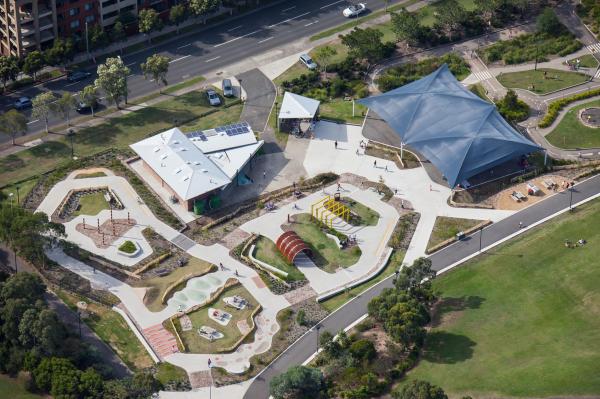 Sydney park track