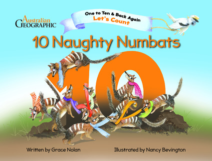 10 naughty Numbats cover