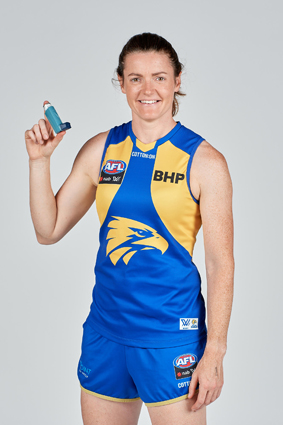 AFLW West Coast Eagles player Kate Orme small
