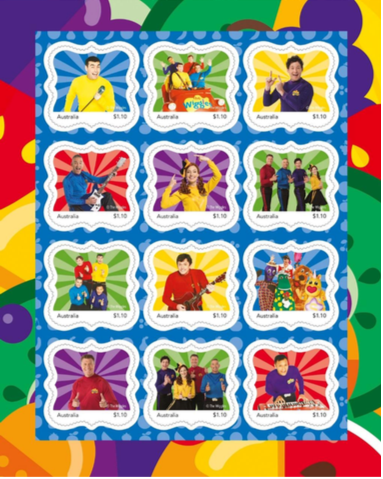 Wiggles Stamps