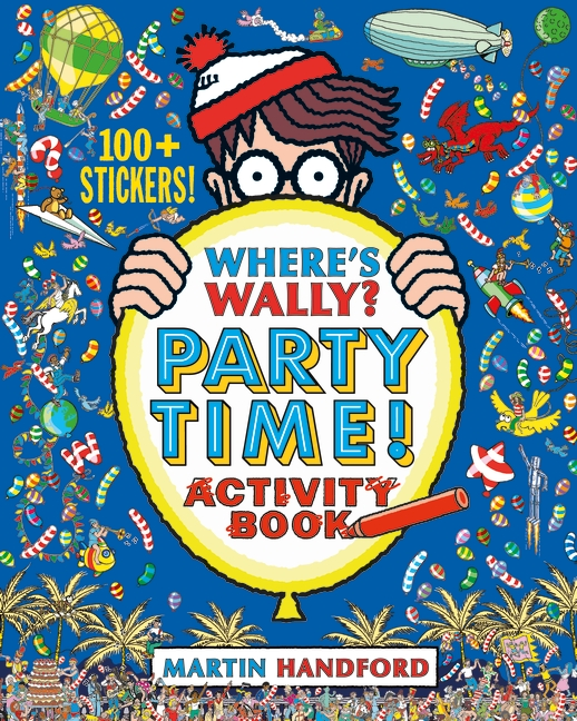 Where's Wally Party Time Cover