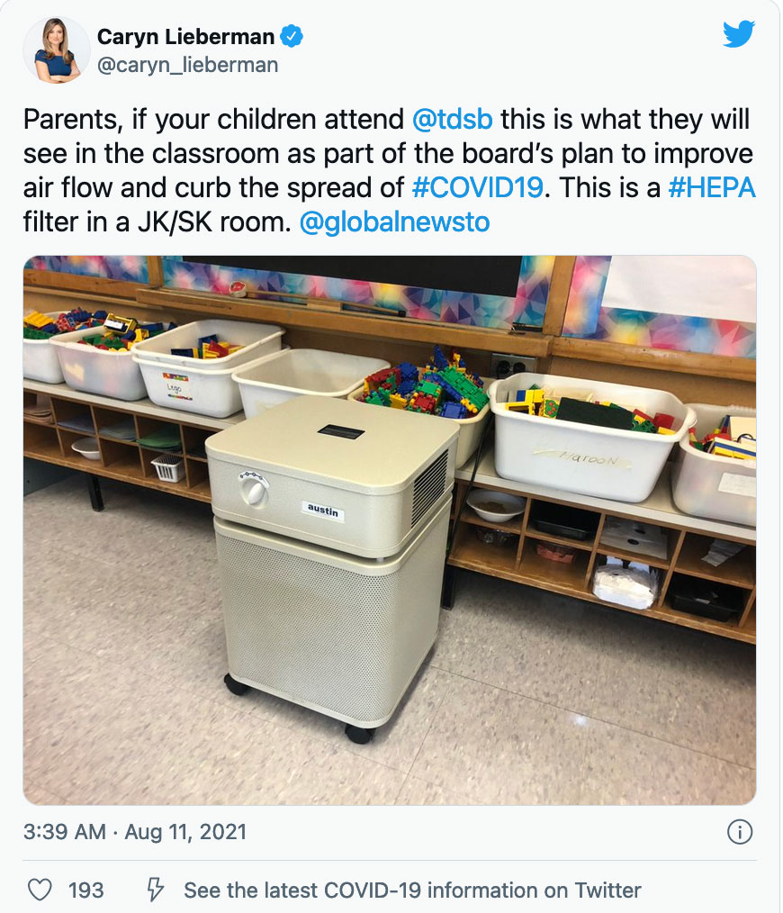 HEPA-air-filter-in-classroom